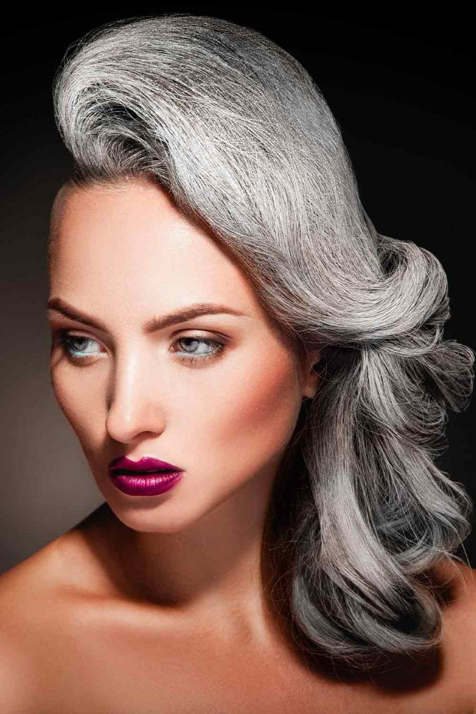 All About Salt And Pepper Hair - A Trend 2020 Designed To ...